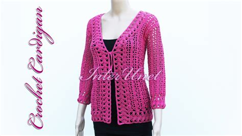 pattern for pink ladies jacket tie front pink lace cardigan jacket crochet pattern youtube