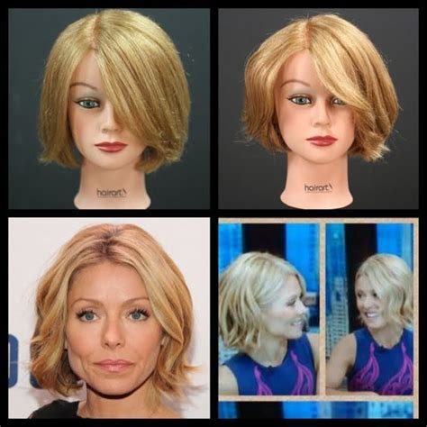 Kelly Ripa Bob Tuitorial | kelly ripa new bob haircut tutorial thesalonguy hair