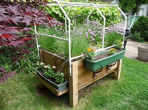 Wicking Planter Box by Albo Grow Box A Large Self Watering Raised Sip Or Sub