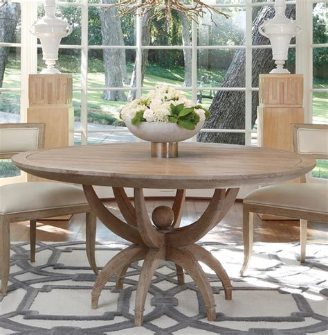 Coastal Kitchen Table Atticus Coastal White Oak Contemporary Dining Table Kathy Kuo Home