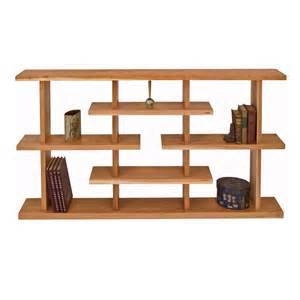 modern style bookcase solid cherry maple walnut wood
