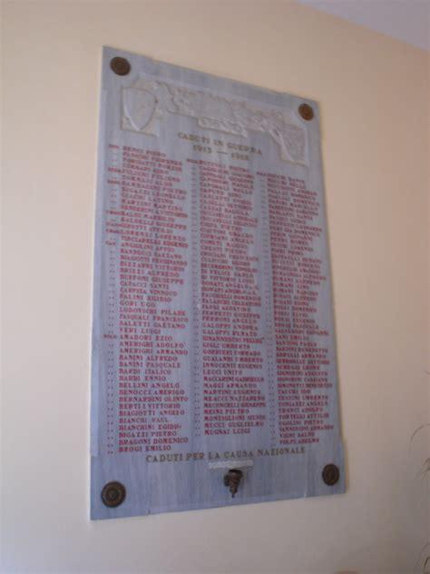 casa di riposo monumento ai caduti lapide commemorativa ai caduti della prima guerra mondiale