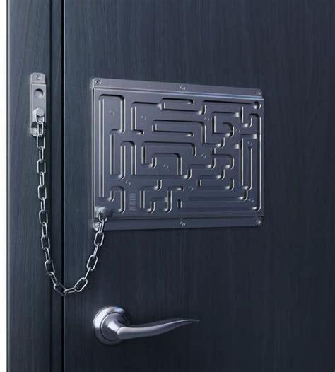 Better Lock Them Doors maze door lock for the home