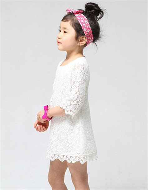 Sale Kid Dress Lace Hellen sale 2015 new fashion korean children beautiful white lace dress princess dresses kid