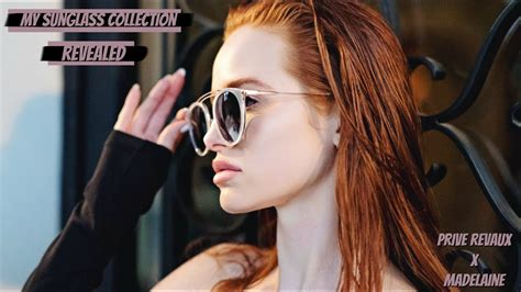 madelaine petsch youtube subscriber count my sunglass collection revealed madelaine petsch youtube