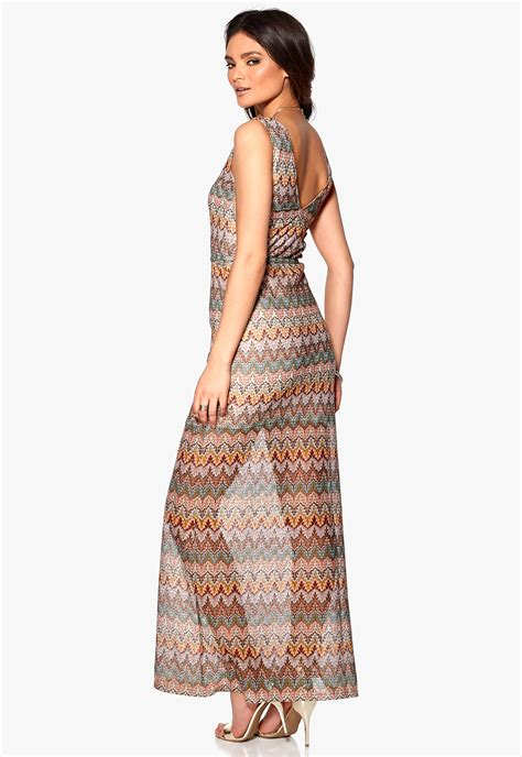 Longdress Print lake print dress bubbleroom