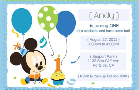 mickey mouse printable birthday invitations gangcraft net