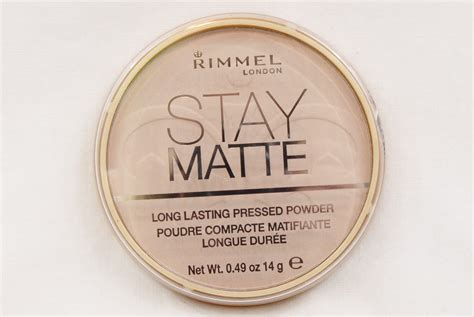 Bedak Rimmel Stay Matte Transparent jual rimmel stay matte lasting pressed powder