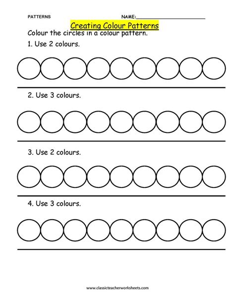 pattern making worksheets check out our collection of math worksheets at