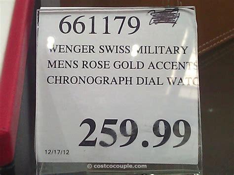 Swiss Army M8429 White Rosegold Black wenger swiss gold chronograph