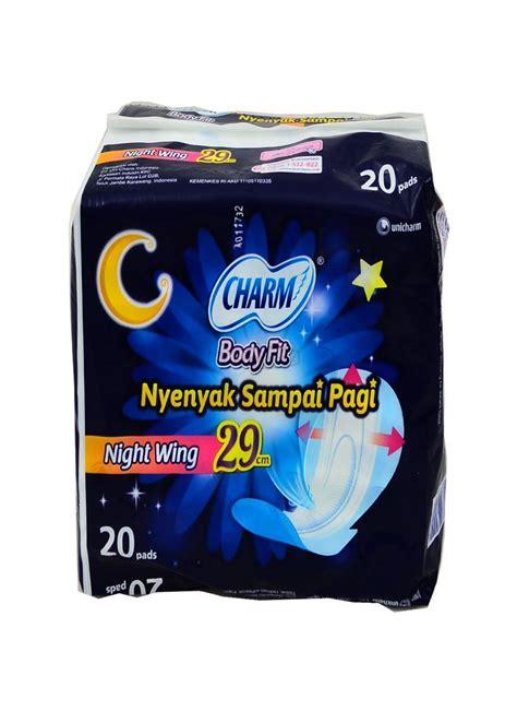 Charm Safe 29cm Wing 20p charm pembalut wnt safe 20 s wing pck 29cm