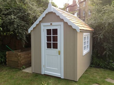 Shed Colours Ideas by A Combination Shed 2 Colours 2 Styles Facia And Potting Window And Door The