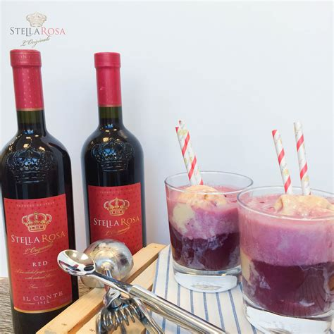 stella rosa red wine floats are the new summer drink stella rosa wines sweet red wines