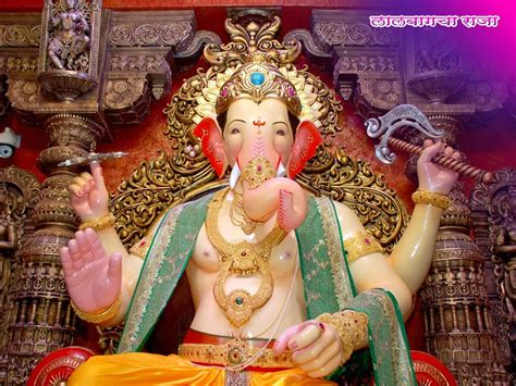 full hd video raja ganpati lalbaugcha raja hindu god wallpapers download