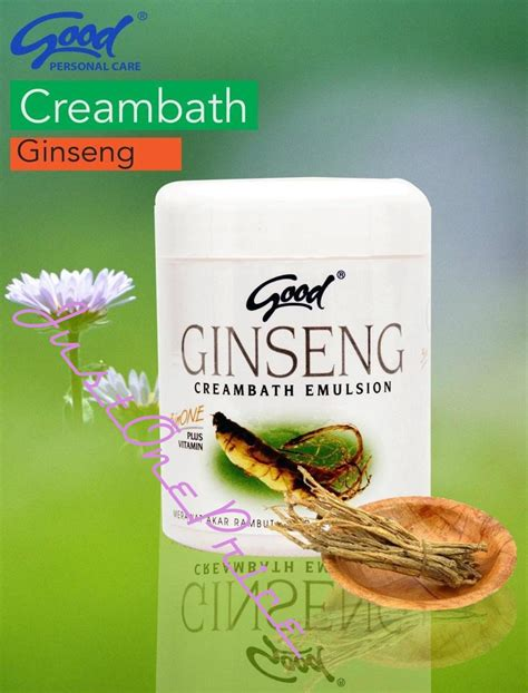creambath ginseng emulsion 3 in 1 plus vitamin min 6pcs
