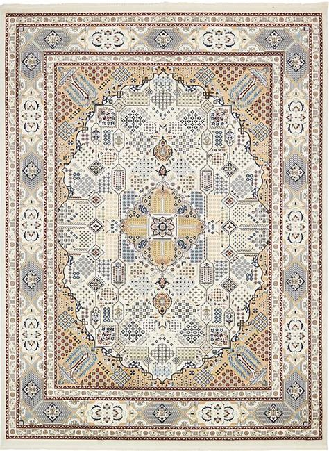 10 X 13 Blue Ivory Rug - ivory 10 x 13 nain rug area rugs esalerugs