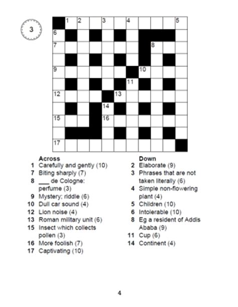 large print easy crossword puzzles printable large print crosswords book