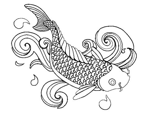 printable coloring pages for adults fish coloring page fish printable kids colouring pages