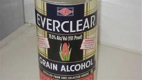 Everclear Detox by Wis Could See Ban On Everclear High Proof Sales