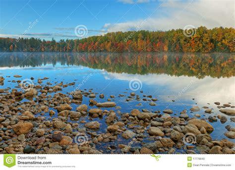 Autumn, Moccasin Lake Stock Photo - Image: 17776840