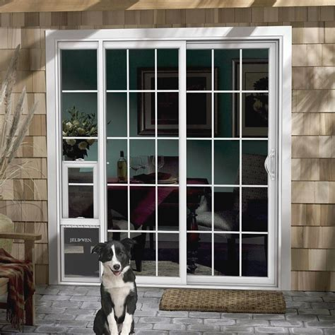 Sliding Glass Door Pet Door Doggie Door For Patio Slider Patio Furniture Outdoor Dining And Seating
