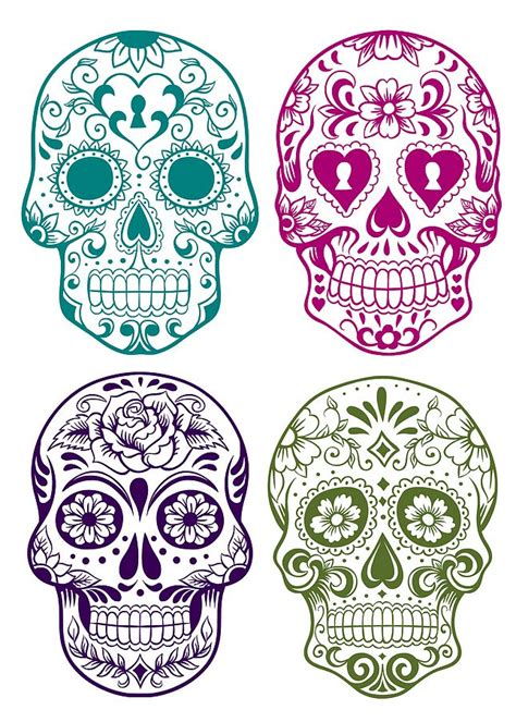 1000 ideas about sugar skull tattoos on pinterest skull