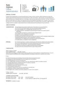 office administrator resume examples cv samples