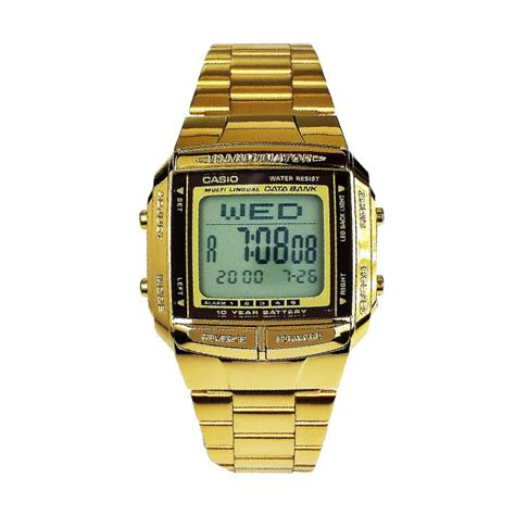 Jam Tangan Wanita Blibli casio db360 gold jam tangan unisex jam tangan wanita water