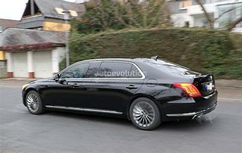Hyundai Motor Corporation by Spyshots Reveal New Genesis G90 With Extended