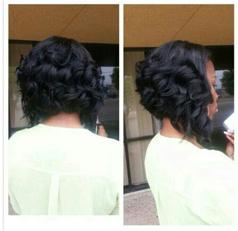 how to sew in a curly bobs bobs and curly bob on pinterest