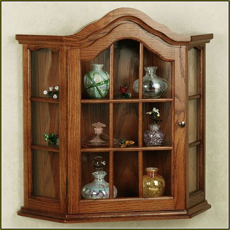 Large Wall Mounted Curio Cabinets   Home Design Ideas