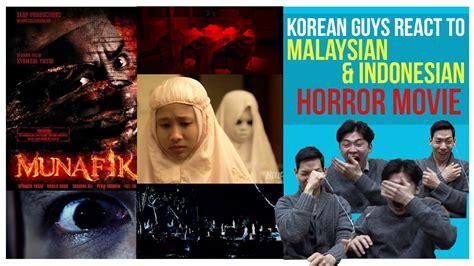 film malaysia vs indo korean guys react to malaysian indonesian horror movies