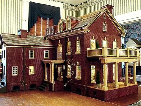 old doll house nice old brick dollhouse with plenty of detail great style and design rick