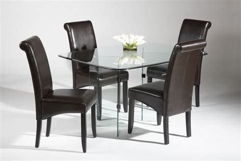 designer dining room chairs round glass dinette sets decosee com