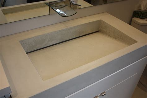 sink with two faucets light grey trough bathroom sink with two faucets