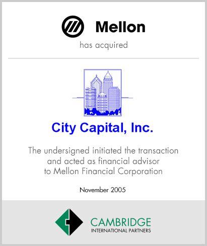 mellon bank corporation transactions industry studies cambridge