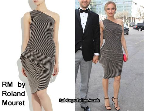 Who Wore Rm By Roland Mouret Better Trudie Styler Or Jemima Khan by In Diane Kruger S Closet Rm By Roland Mouret Hebe
