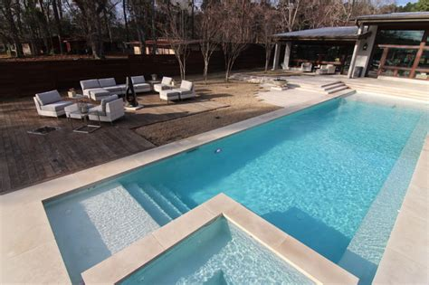 Backyard Pool Products Pools Modern Tub And Pool Supplies Houston By