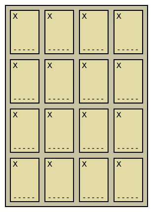 Loteria Card Template by Loter 237 A Board