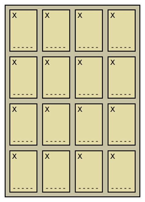 loteria template loter 237 a board