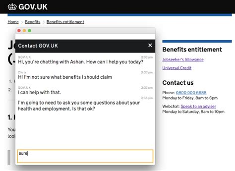web chat webchat government as a platform