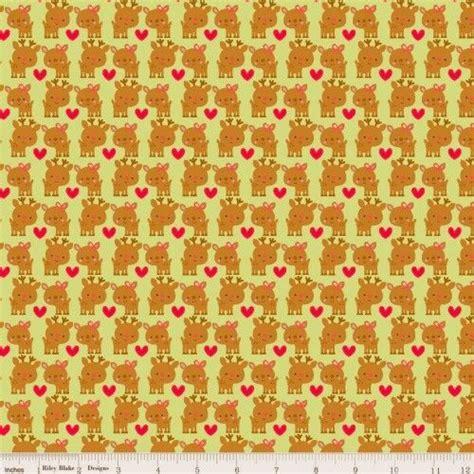 doodlebug designs fabric cotton quilt fabric santa express deer green