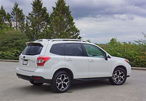 subaru forester xt road 2016 subaru forester 2 0xt touring road test review