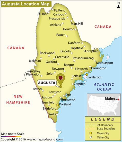 of maine augusta where is augusta maine