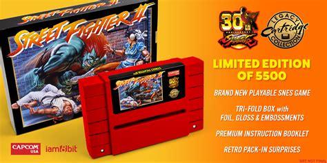 Bd Ps4 Fighter5 Spesial Shoryuken Edition fighter ii is getting a 30th anniversary snes cartridge nerdist