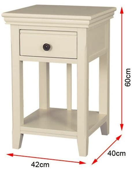 bedside table dimensions soild ivory bedside table with drawer bedroom cabinet side