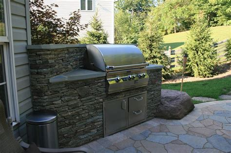 Backyard Grill Area Outdoor Kitchen Grill Area Patio