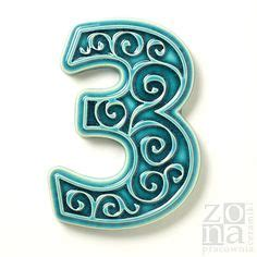 ceramic house signs to design yourself 1000 images about ceramic house number on pinterest house numbers house number