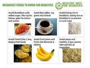 Breakfast foods to avoid for diabetics