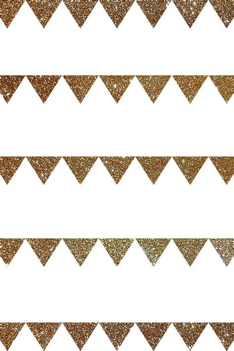 pattern lock triangle gold glitter white bunting triangles pattern iphone